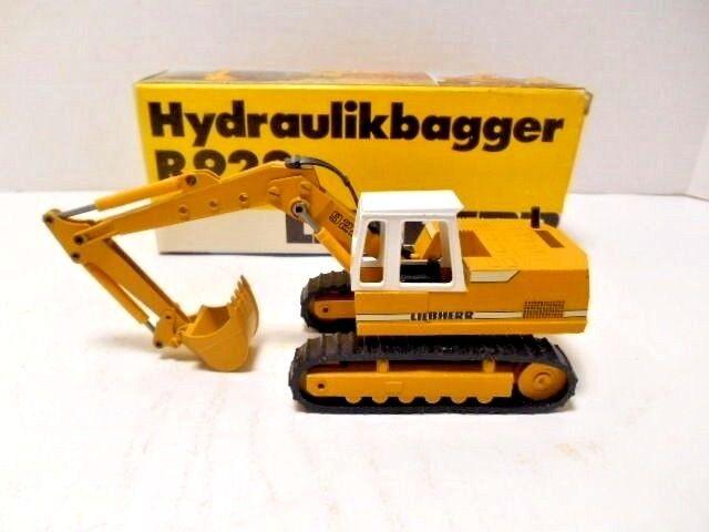 Conrad  Liebherr  'Hydraulikbagger R922 Excavator' West Germany Die-Cast  1 50