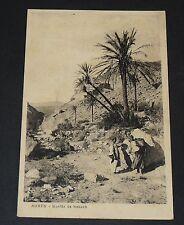 CPA CARTE POSTALE 1930 ALGERIE COLONIE FRANCE AURES GUELAA DE KEBACH AFN MAGHREB