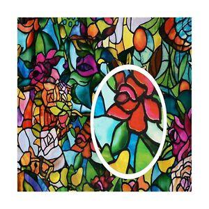 d-c-fix 346-0647 Self-Adhesive Privacy Glass Window Film Spring Chapel//Tulia...