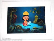 "Disney Art Print Lithograph 11""x14"" Emperor's New Groove Baby Kuzco Nursery"