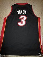 Dwyane Wade #3 Miami Heat Reebok NBA Jersey Youth LG 14-16