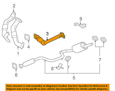 Fits:3.5L Chevrolet IMPALA//MONTE CARLO Front Catalytic Converter