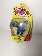 Jimmy Neutron collectible Gripper Goddard Riposiziona il cane figura 2001 NIP
