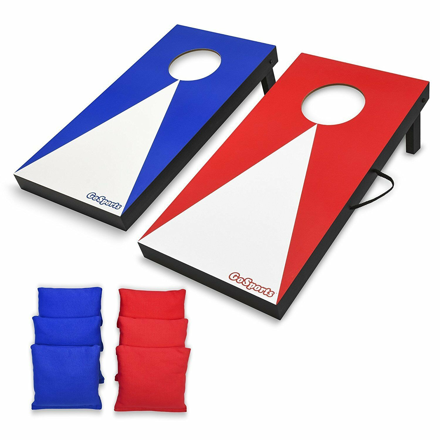 Junior Size Corn Hole Set Kids Bean Bag Toss Board Game Fun Toy In Out Door Play