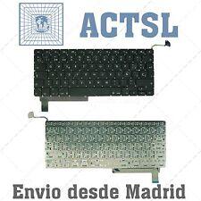 """TECLADO ESPAÑOL para Apple Macbook Pro 15"""" A1286 AÑO-YEAR 2011"""