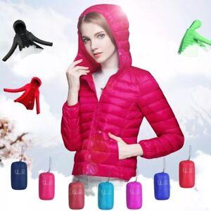 Invierno-Mujer-Chaqueta-de-Plumon-Ultra-Liviana-90-agachate-chaquetas-con-capucha-de-manga-larga