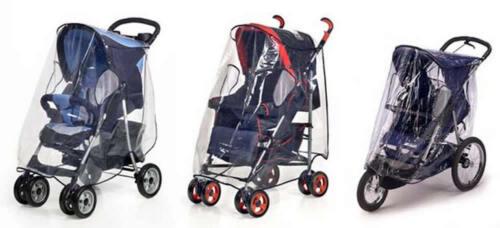 Reer Universal-Regenschutz XL Regenhaube Regenverdeck für Kinderwagen