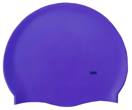 CHEX 100/% Silicone Plain Grade A Strong Swimming Swim Hat Cap Orange Green Pink