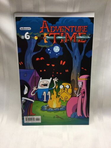 Adventure Time #6 Cover B 2012 Kaboom
