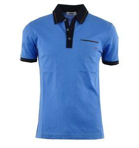 MOSCHINO Polo Shirt Blau Blue Bleu 03346