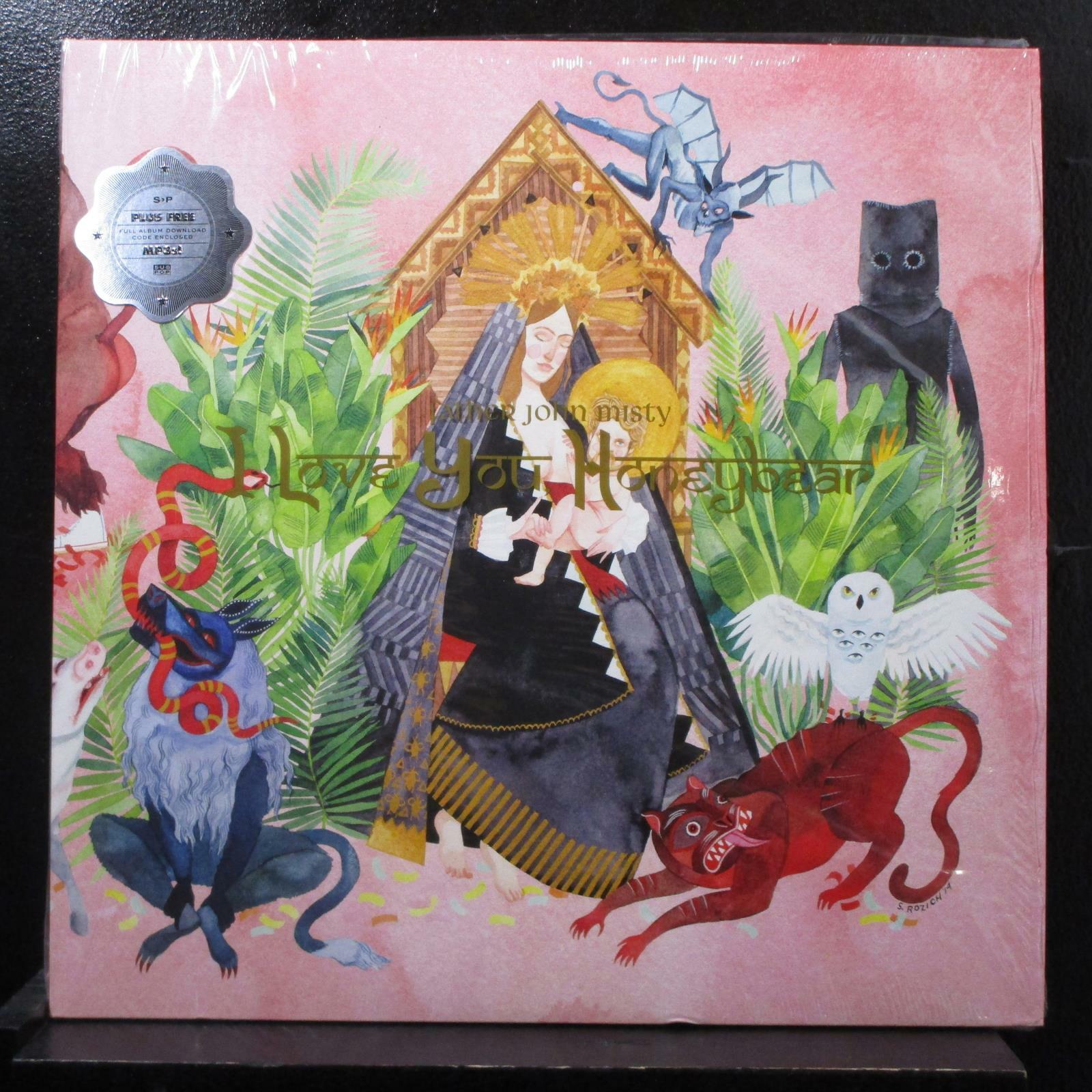 Father John Misty - I Love You, Honeybear 2 LP 45 RPM New SP1115 Clear Vinyl