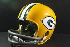 GREEN BAY PACKERS Custom Game Style RK Vintage Football Helmet Starr Hornung