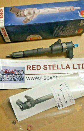 Bosch Fuel Injector Nozzle ALFA ROMEO FORD FIAT VAUXHALL OPEL 1.3 CDTi TDCi JTDm