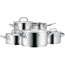 WMF Topfset Kochtopf 5tlg Metalldeckel Gourmet Plus Induktion Edelstahl 18/10