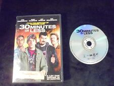 """USED DVD Movies """"30 Minutes Or Less .""""  (G)"""