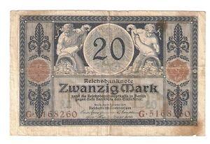 Germany-German-Empire-20-Mark-1915-Reichsbanknote-banknote-Ser-G-5168260