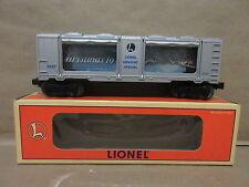 Lionel Model Train 6-19855 Christmas Aquarium Car Holiday Special Illuminating