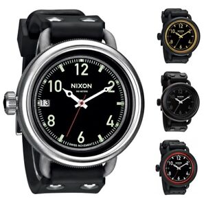 Nixon-Men-039-s-A488-October-48-5mm-Strap-Watch-Choice-of-Color