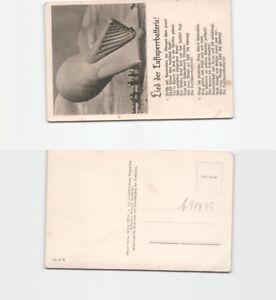 (b90439) carte postale la Montgolfière luftsperrabteilung avec liedeindr-lung mit Liedeindrafficher le titre d`origine Aah12wxp-07163455-389126906