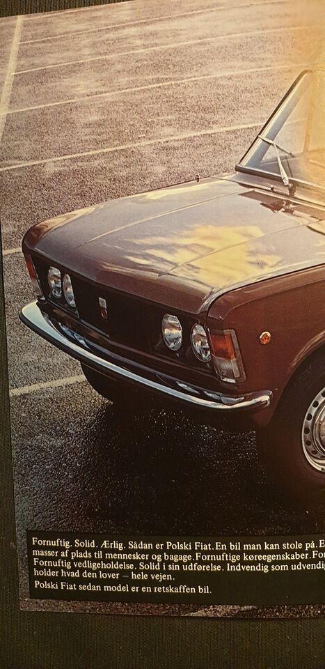 Brochure, Polski Fiat