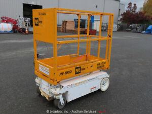 2015-Hybrid-HB1230-Electric-12-039-Scissor-Lift-Man-Aerial-Platform-24V-bidadoo