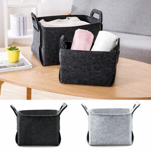 Fashion Storage Basket Closet Toy Shelf Box Desktop Laundry Bag Organizer Bin