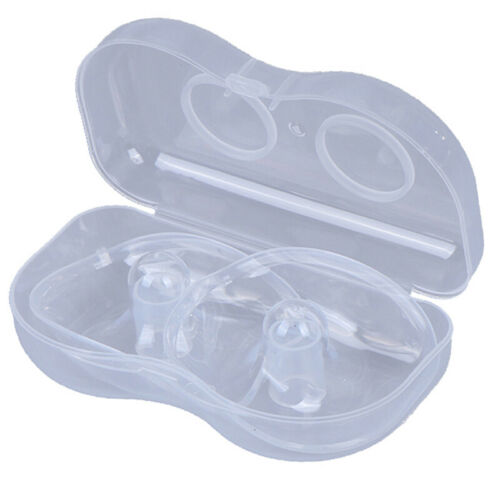 2Pcs//Lot Silicone Nipple Protectors Feeding Mothers Shields Protection Cover ZB