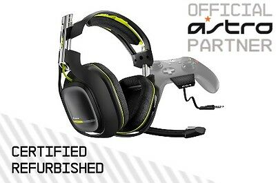ASTRO A50 Wireless Xbox One Headset. Gen 2. Black. Certified Refurbished