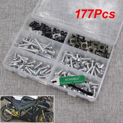 Silver Fairing Bolts Screws Kits for Honda CBR600RR CBR900RR CBR1000RR CBR1100XX