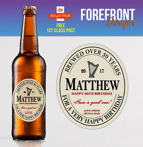 Personalised-Stout-Beer-Ale-bottle-label-Perfect-Birthday-Graduation-Gift
