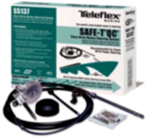 New TeleFlex Safe-T QC Rotary Boat Steering System 9/' TEL SS13709