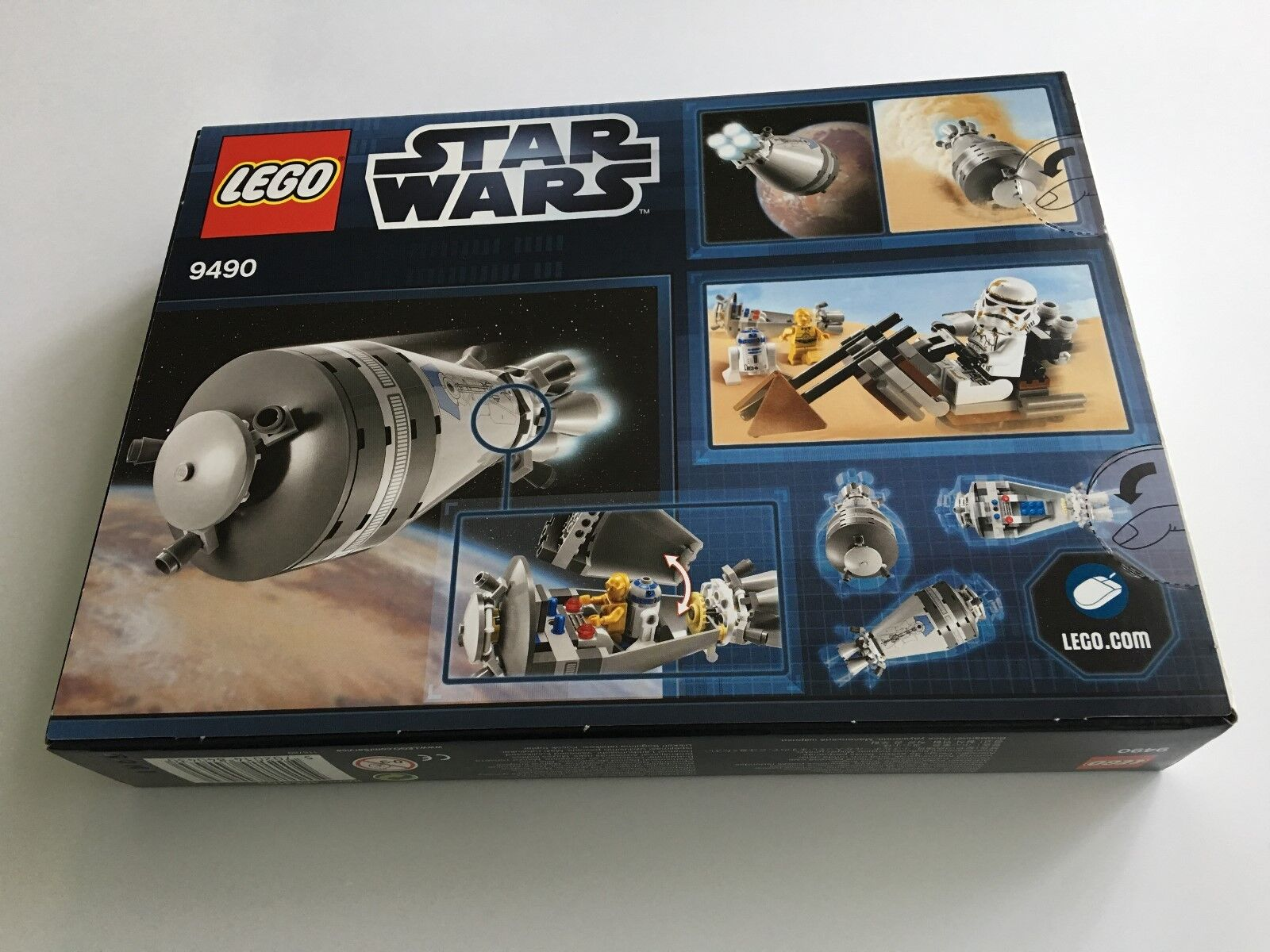 LEGO Star Wars Droid Escape - Set 9490 - Brand New & Sealed