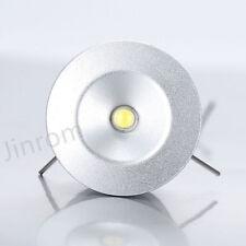 12V 1W Recessed LED Under Cabinet Spotlight 5000K Water Resistance Kitchen Light