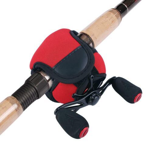 Waterproof Fishing Reel Bag Baitcasting Fish Wheel Protector Breathable Practica