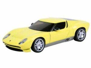 LAMBORGHINI Miura Concept - yellow - MotorMax 1:24