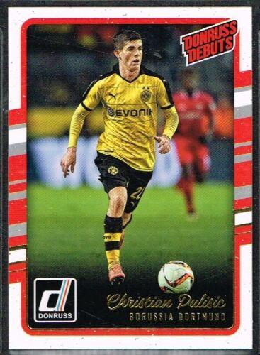 Donruss soccer 2016-2017 ☆ Donruss debut ☆ Tarjetas de fútbol de #201 a #230