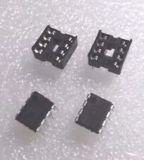 2 x NE555P IC Precision Timer with 8 Pin DIP Sockets