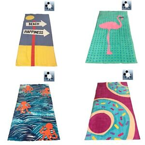"""Details about Beach Towels 100% cotton Swimming Pool Towel 28""""-58"""" 🔥Buy  one get one FREE🔥"""