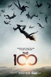 """Sci-Fi Plot The 100 Season 7 TV Poster 18x12/"""" Print Decor"""