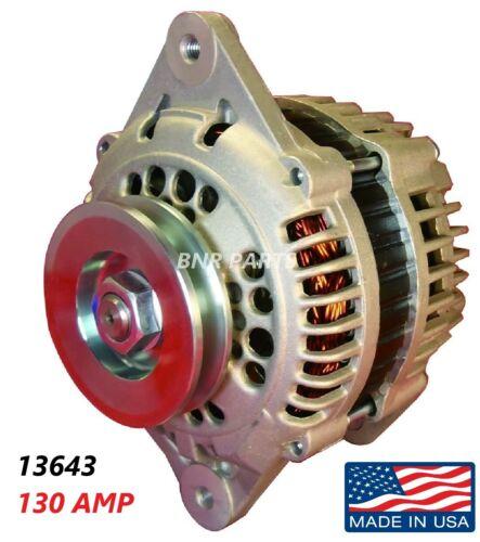 130 Amp 13643 Alternator fits Nissan Pathfinder Pickup High Output Performance