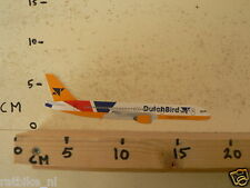 STICKER,DECAL DUTCH BIRD MADE IN HOLLAND AIRPLANE