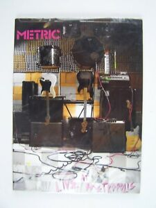 Metric: Live at Metropolis DVD New Sealed 60270094291