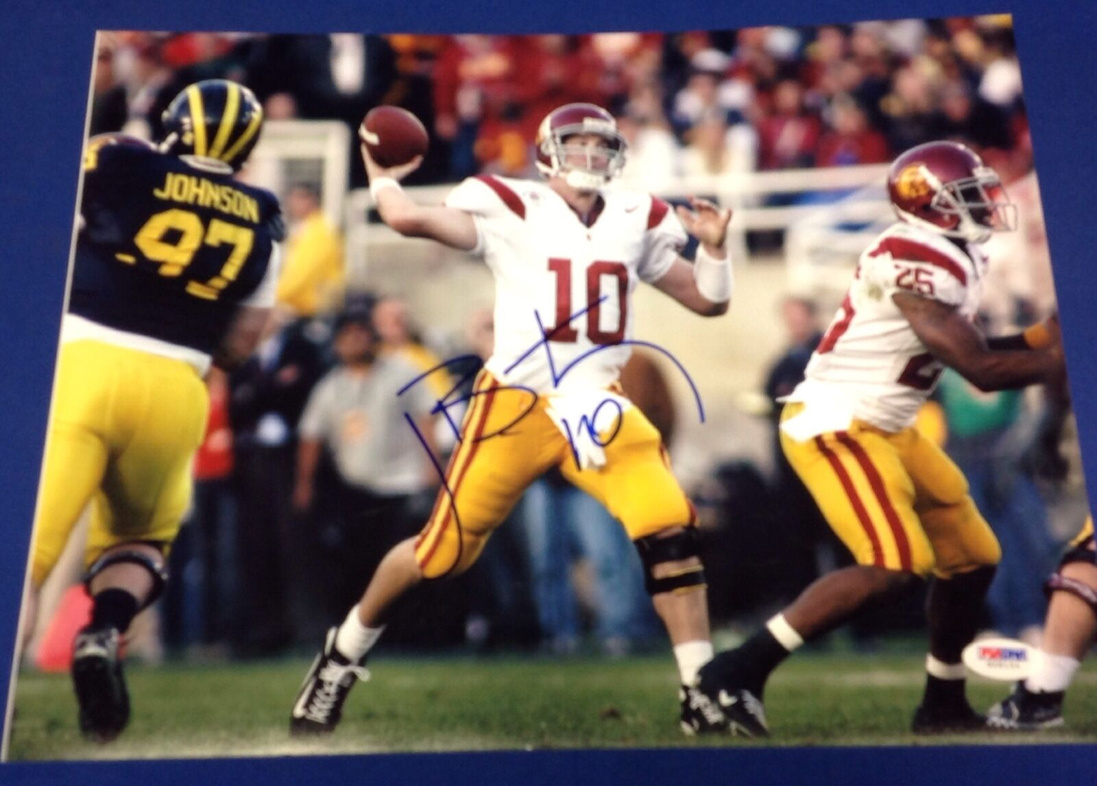 John David Booty USC Trojans Signed 11x14 Photo PSA/DNA #G28154