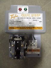 TAYLOR PHASE FAILURE RELAY, PHASE GUARD, PNDRLV-480-3T