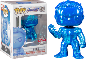 Funko-Pop-Vinyl-Marvel-Avengers-Endgame-Hulk-Blue-Chrome