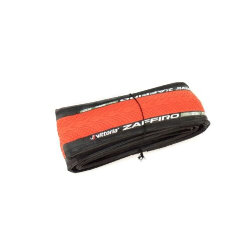 Vittoria Zaffiro IV Tire 700x25C Folding Clincher Road Tour Commuting Black//Red