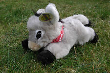 Esel, liegend mit Halstuch 30 cm, Plüschesel