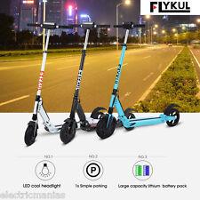 30km/h Trottinette Electrique Kick Scooter Roller LED Headlight 250W 24V 120kg