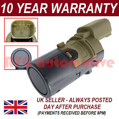 FOR BMW 3 5 6 7 SERIES X3 X5 X6 PDC PARKING DISTANCE SENSOR 3 PIN 1PS0203S