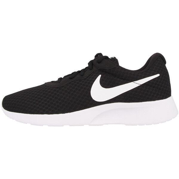 Nike Tanjun damen Schuhe Freizeit Turnschuhe Laufschuhe schwarz Weiß 812655-011